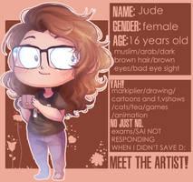 Meet the artist by Ao--hoshi
