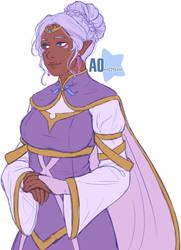 Lamura (Allura's mother redesign) by Ao--hoshi