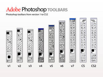 Photoshop Toolbars by lukeroberts