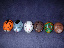 More Zodiac Easter Eggs by Mavuriku
