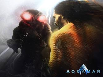 Aquaman - Enter Black Manta by DigestingBat