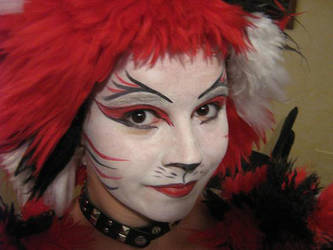 Bombalurina Makeup w costume by ImHerMonster