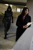Laurel Awaits the Vigilante by Sheikahchica