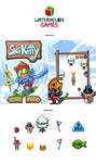 Ski Kitty - android and iPhone by vmat