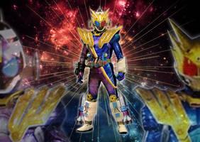 Kamen Rider Fourze Fusion: Storm Galaxy State by tuanenam