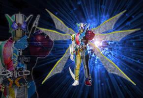 Kamen Rider W Gold-Extreme C.J.H.M.L.T.F.A by tuanenam