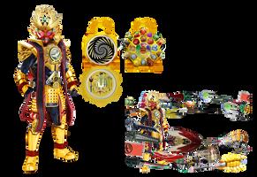 Kamen Rider Gaim-Warlord Arms by tuanenam