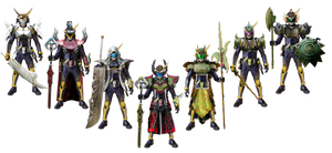 Kamen Rider Gaim Overlords Arms by tuanenam