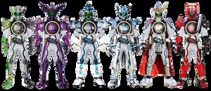 Kamen Rider OOO - Final Combo's NeoHeisei by tuanenam