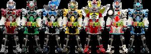 Kamen Rider Brave - Secondary Heisei II form by tuanenam