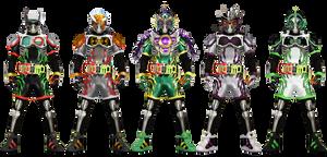Kamen Rider Snipe - Tertiary Heisei II form by tuanenam