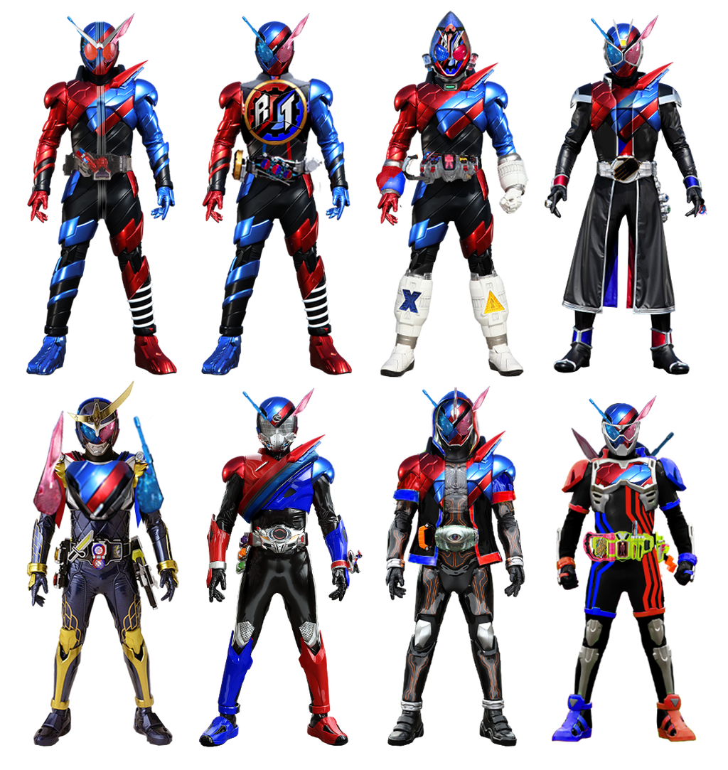 Kamen Rider Heisei II: Build Form By Tuanenam On DeviantArt