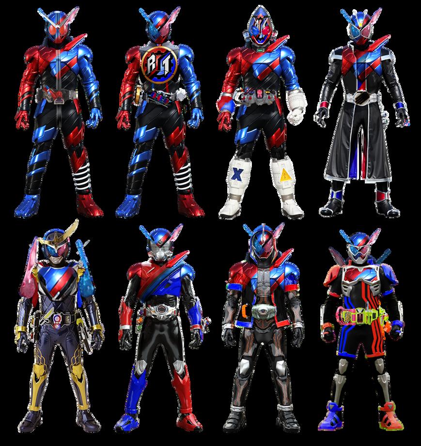 Kamen Rider Heisei II: Build Form By Tuanenam On DeviantArt