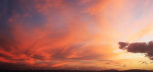 pink sky by ZeNey