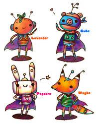 Super Duper Heroes by rincharmie