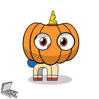 Puppycorn Pumpkin by Pizzamovies