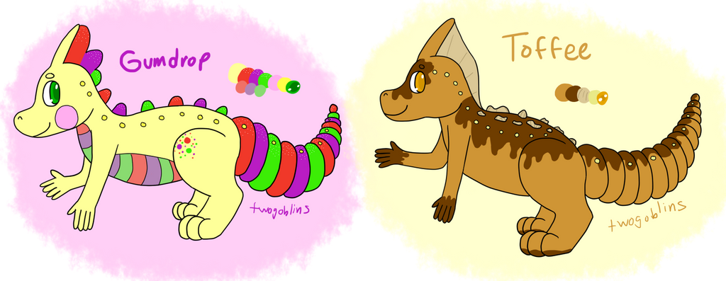 Yummy Sweet Paralogos Adopts - 2/2 Open! by twogoblins