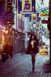 When beauty walks. by parampam