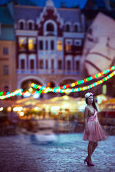 Riga and Diana. by parampam