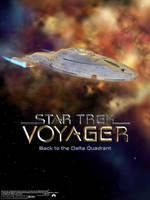 Star Trek Voyager Poster by kovah