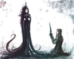 Lady Widow by kovah