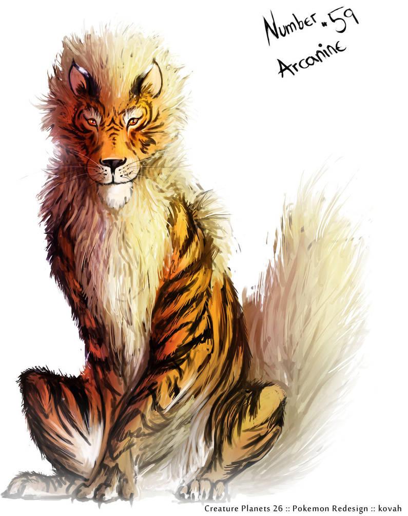 Arcanine by kovah