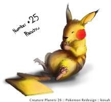 Pikachu concept by kovah