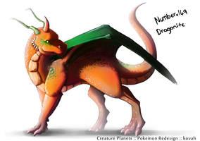 Dragonite Redesign by kovah