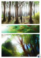 Landscape Studies 2 by kovah