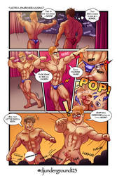 [COMMISSION] Ultra-Embarrassing Comic by djunderground123