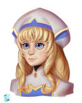 Priestess from Goblin Slayer by BlueLine-Ultra