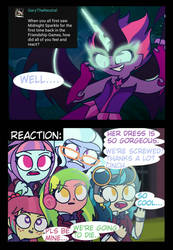 Shadowblog 31- Reaction towards Midnight Sparkle. by psychodiamondstar
