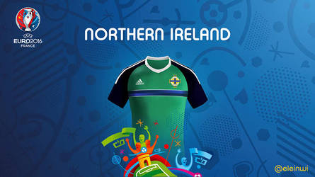 Northern lreland Kits #EURO2016 by einwi