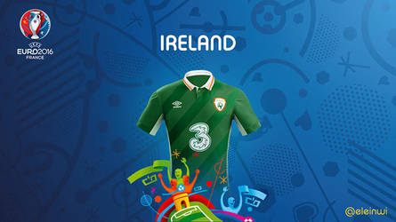 Ireland Kits #EURO2016 by einwi
