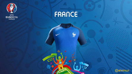 France Kits #EURO2016 by einwi