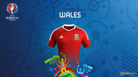 Wales Kits #EURO2016 by einwi