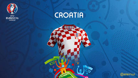 Coratia Kits #EURO2016 by einwi