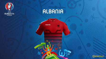 Albania Kits #EURO2016 by einwi
