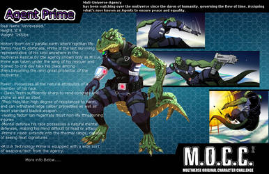Agent Prime MOCC 2 Card by Quel2many