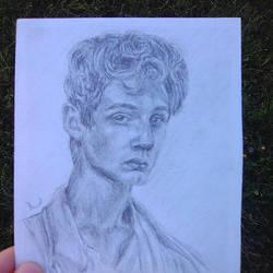 Sketchy boy by ChocoBookworm