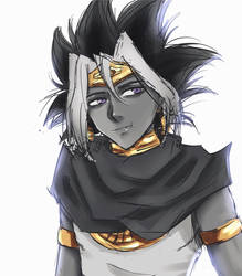 Pharaoh Atem by Eilizzle