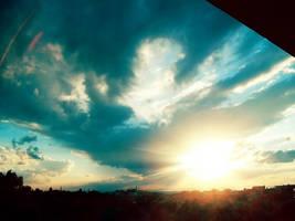 Vintage sky by MrsClarify
