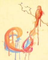 A Lil Bird by Rachcsa