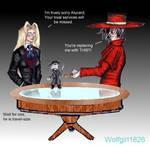 Hellsing_Puppet Master by Silvia1826