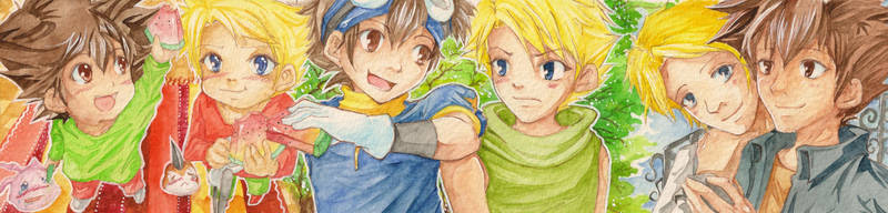 #93-#95 [Friends for a lifetime] by Takuichi