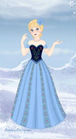 Snow Queen Maker-Elsa in prom dress by Astrogirl500
