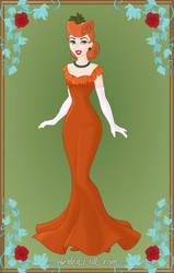 Lady Tottington in vegetables contest dress by Astrogirl500