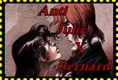 Anti Julie x Bernard stamp { Sambre} by Astrogirl500