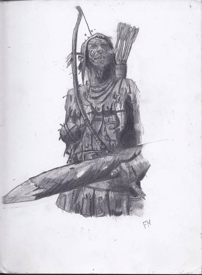 Warhammer Bretonnian Archer by TheJediClone