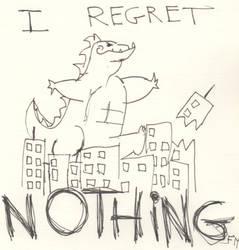 Derp Godzilla by TheJediClone